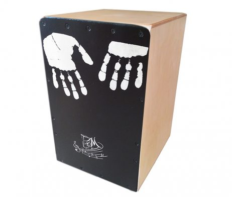 cajon flamenco mano natural